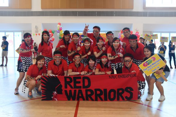 singapore-event-planners-event-management-NTUC-ARU-Teambuilding-bonding-games-3