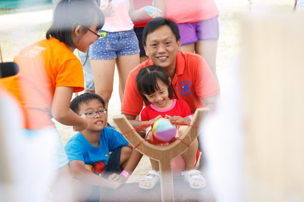That's Innovative Event Management Singapore - Family Day