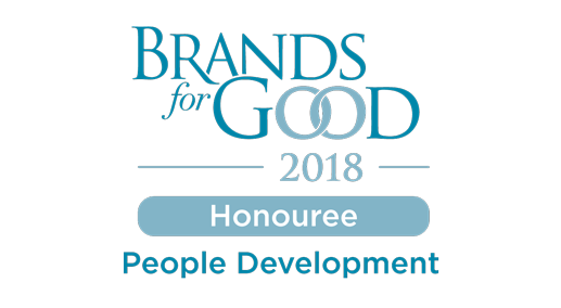 Brands for Good Award 2018 - People Development That's Innovative