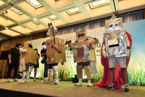 team-building-singapore-event-management-recycle-theme-4rs-events-company