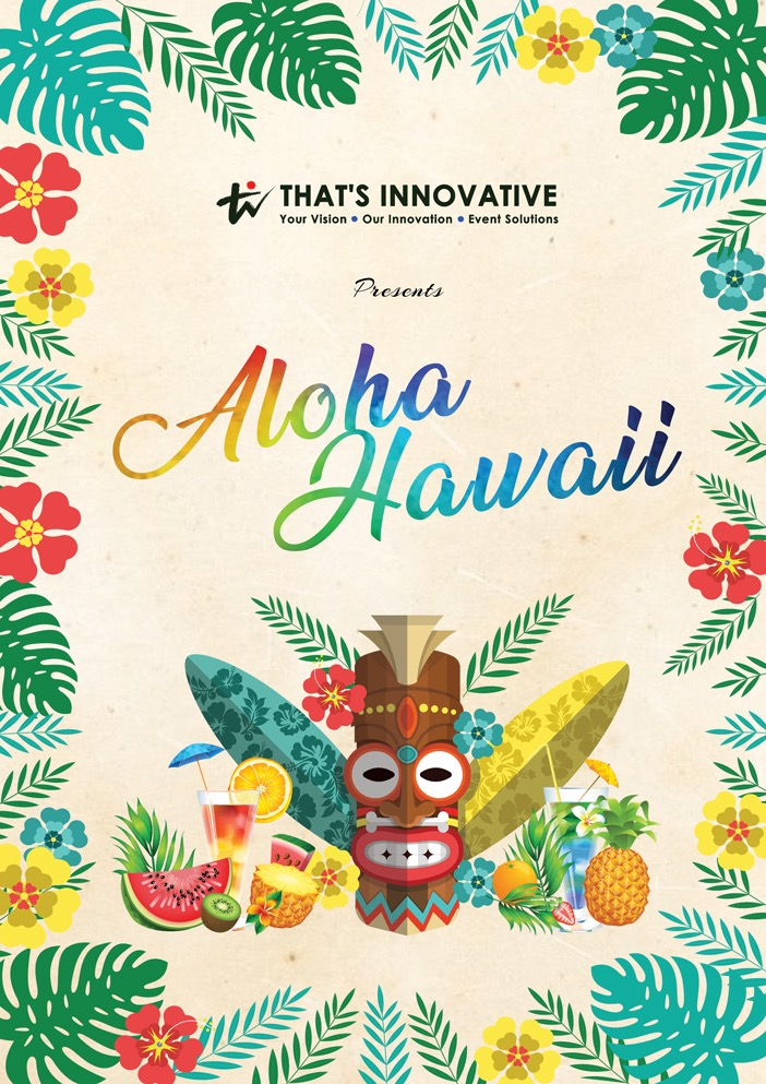 Dinner-and-Dance-Hawaii-Theme-Event-Package