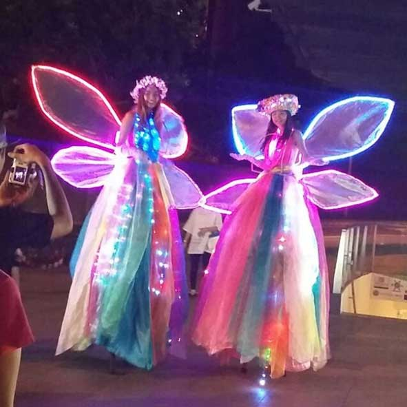 singapore-event-management-pre-event-fringe-activities-LED-fairy