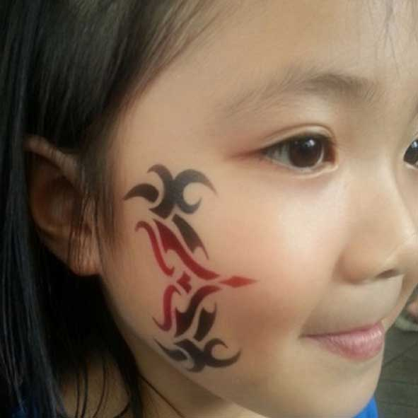singapore-event-management-pre-event-fringe-activities-air-brush-tattoo