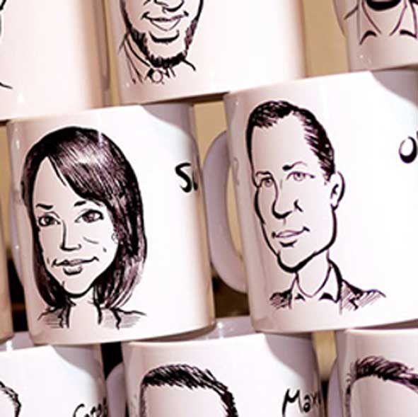 singapore-event-management-pre-event-fringe-activities-mug-caricature