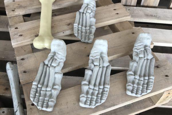 singapore-event-management-halloween-props-rental-bone-foot