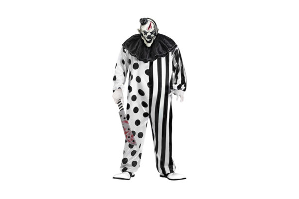 singapore-event-management-mascots-costumes-black-and-white-clown