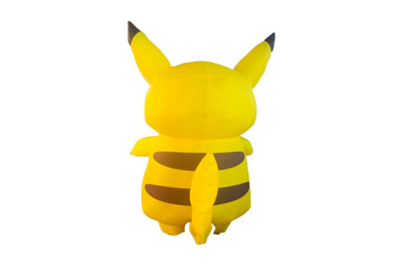 singapore-event-management-mascots-costumes-pikachu-inflatable-back