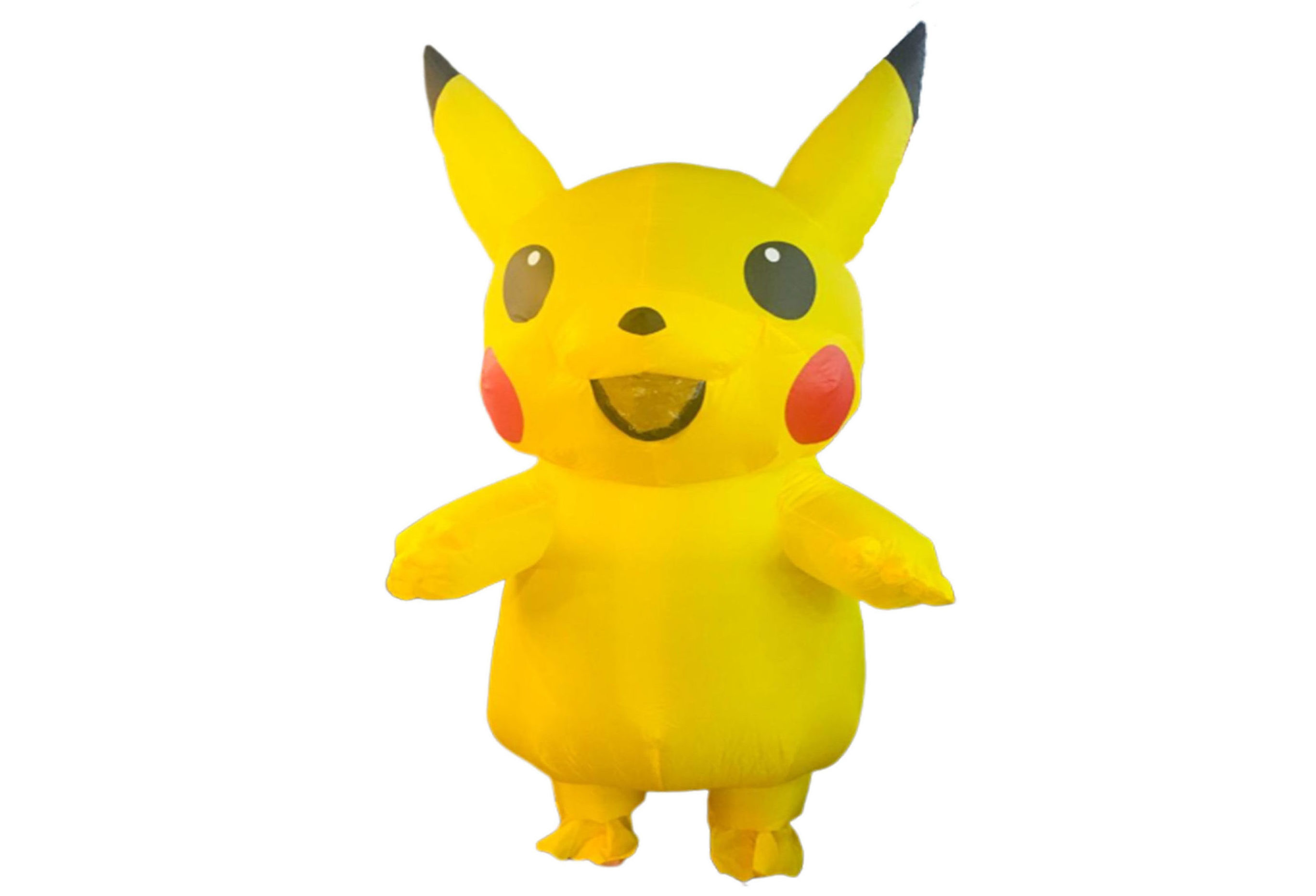singapore-event-management-mascots-costumes-pikachu-inflatable-front
