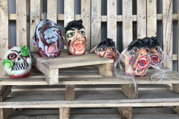 singapore-event-management-halloween-props-rental-3D-heads-set-small