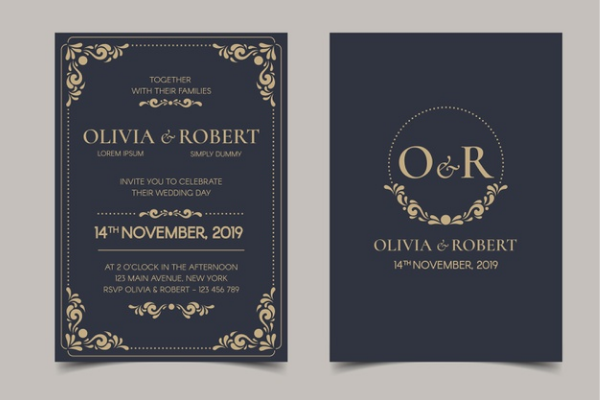 Online event services including design a beautiful invitation card and send to your guests