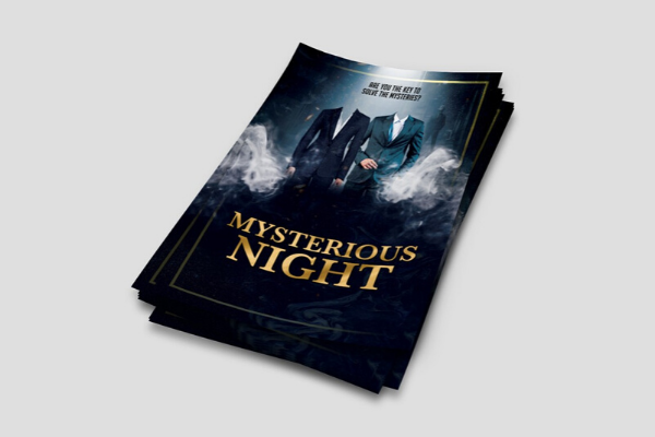 Poster design for online events