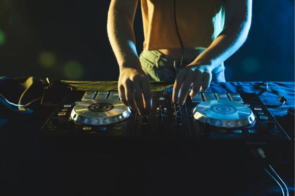 Online event services including professional DJ
