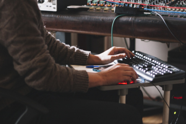 Online event services including sound technician with 4-hour support