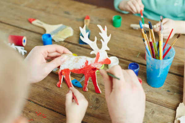 Host an interactive virtual workshop for kids to keep them entertained at home