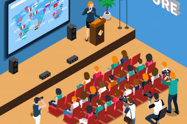 Events that you can do in our studio is public speaking