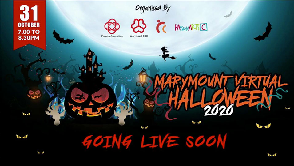 Marymount-Halloween-Virtual-event-live-streaming-on-facebook-event-company-singapore-thats-innovative-holding-slide