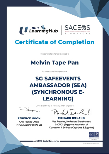 SafeEvent-Ambassador-Melvin-Tape_SEA-Cert
