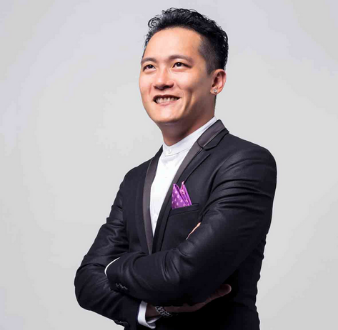 Event emcees in Singapore, Adrian Ang