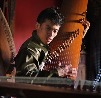 bands or instruments in Singapore, guzheng