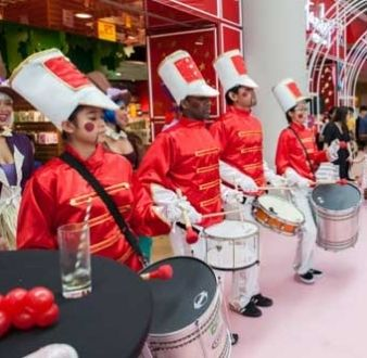 bands or instruments in Singapore, toy-drummers