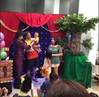 event-management-event-entertainment-singapore-magician-talking-tree-magic-show