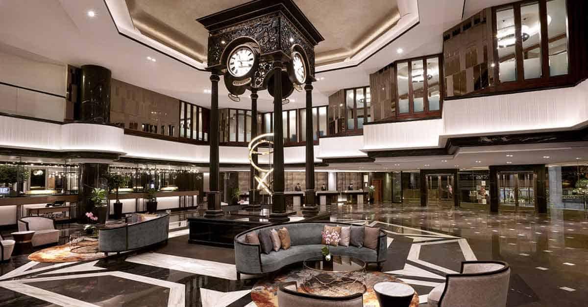 Orchard hotel Singapore lobby