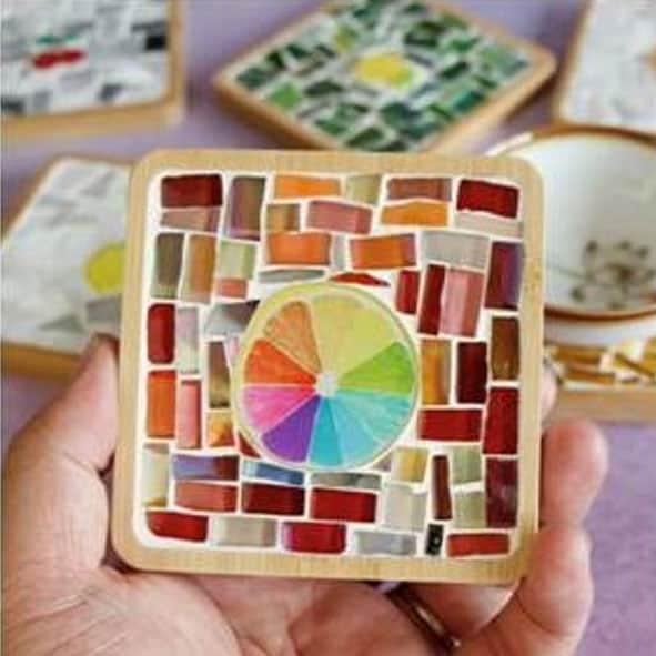 virtual-workshop-diy-craft-workshop-mosiac-coaster