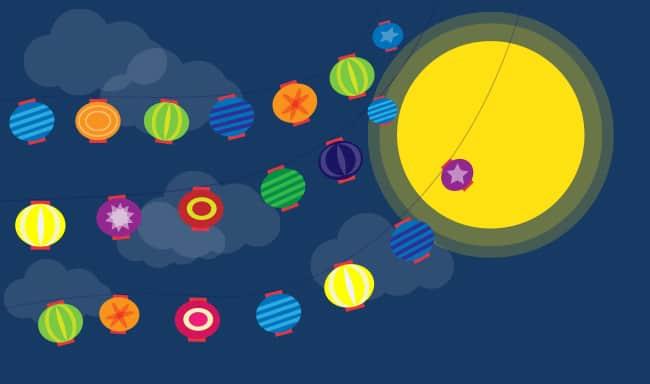 Virtual Mid Autumn Event Game Lantern Riddle