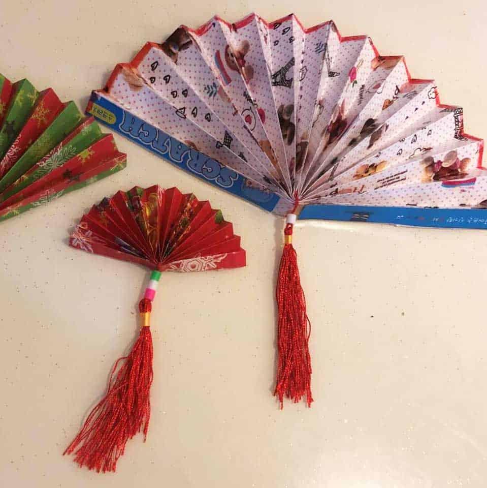Virtual Mid Autumn Event Paper Fan Making